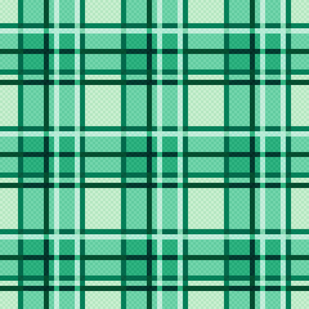 hues: Seamless checkered modern trendy colorful pattern mainly in lush Emerald hues