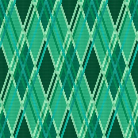 rhombic: Seamless rhombic modern trendy colorful pattern mainly in Emerald color