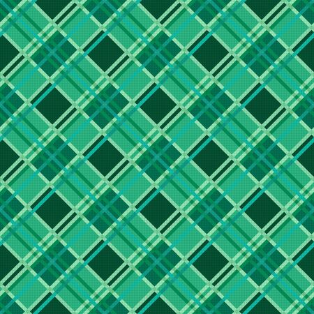 sappy: Seamless diagonal modern trendy colorful pattern mainly in Emerald color