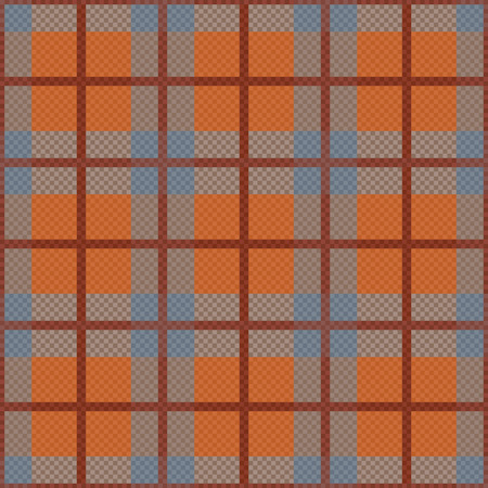 hues: Seamless rhombic vector pattern mainly in grey and orange hues