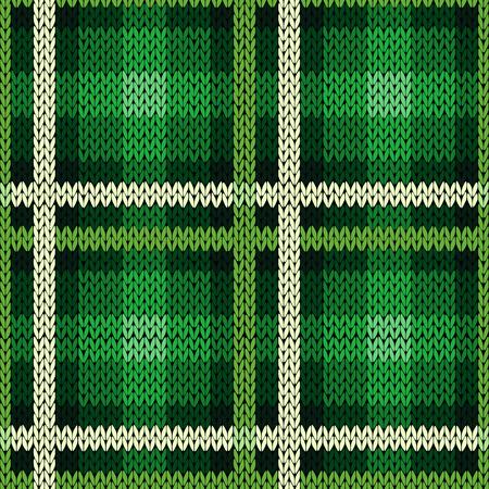 Patrón De Vectores Sin Fisuras Como Un Celta Escocesa De Tartán De ...