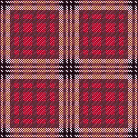 Muted multicolor tartan Scottish seamless pattern in blue gray hues, texture for tartan, plaid, tablecloths, clothes, bedding, blankets and other textile