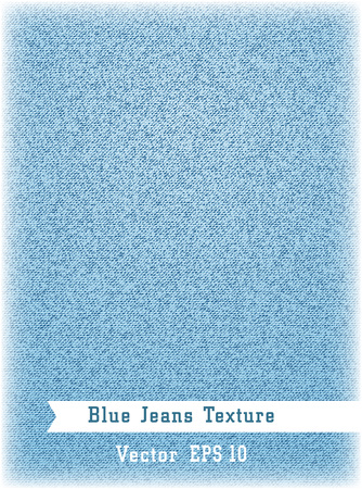 Realistic denim texture background. Vector illustration.