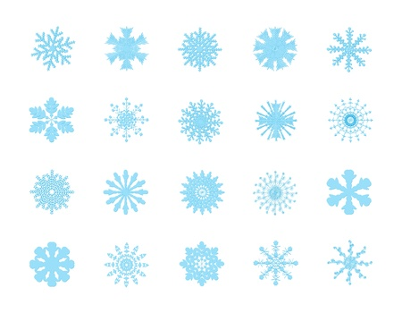 20 simple and nice snowflakes