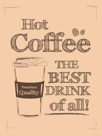 Vintage Typograhy Poster Ilustração