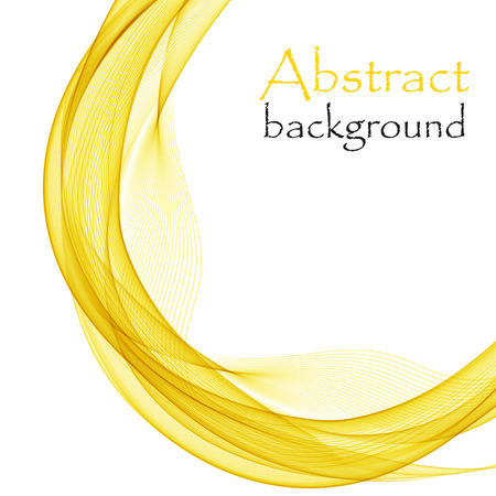Abstract background with yellow circle
