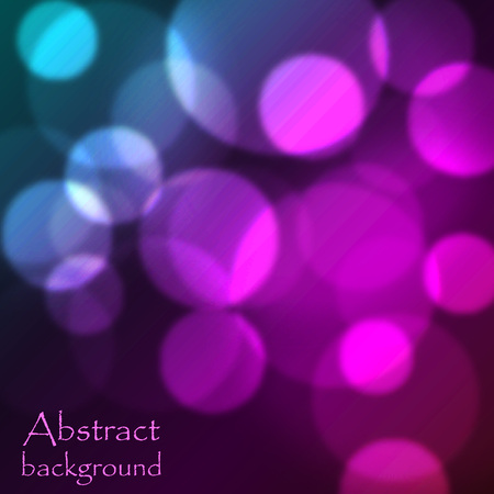 Abstract bright background with blue and pink circles Illustration