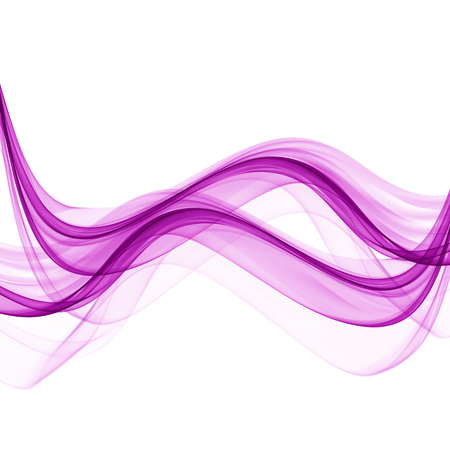 Abstract waves of purple on a white background Banque d'images - 122680157