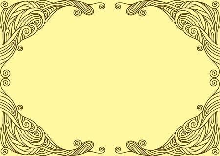 twisty: Background with twisty linear ornament
