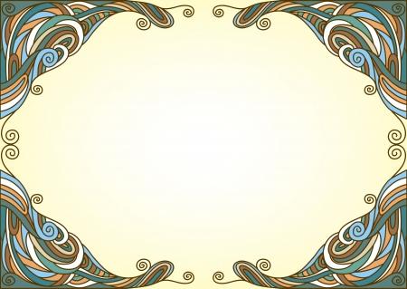 twisty: Background with twisty ornament