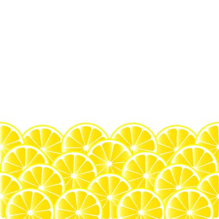 fruity: Fruity background with lemon slices