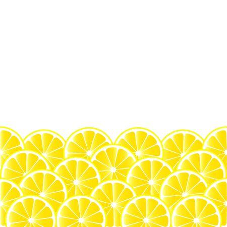 frutoso: Fundo frutado com fatias de lim