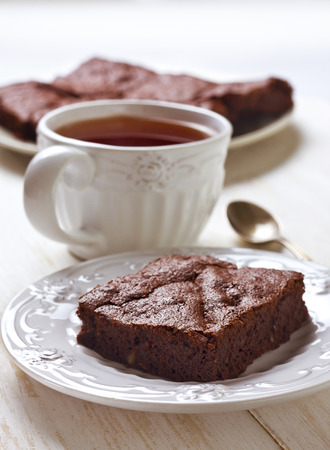 brownies: chocolate brownies