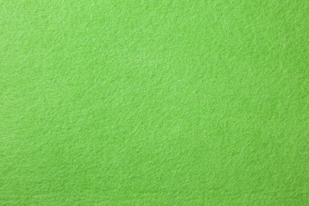 green felt background closeup
