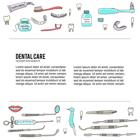 dental care icons, Dental symbols, Dental floss, teeth, mouth, tooth paste, tooth brush, dentist instruments doodle icons, sketch, brilliant smile, tooth wash