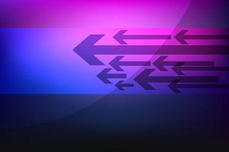 flecha azul: Violeta de fondo abstracto con flechas Vectores