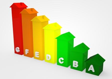 kwh: Energy rate Stock Photo