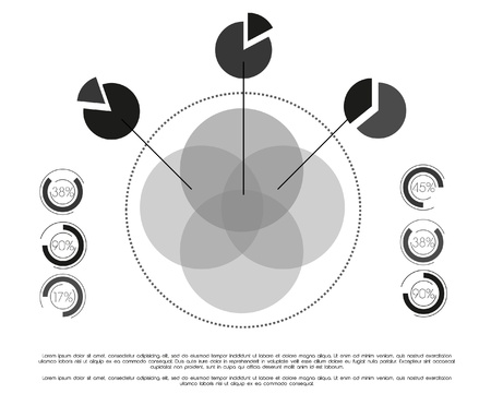 Retro Infographic with elements Stock Vector - 12497747