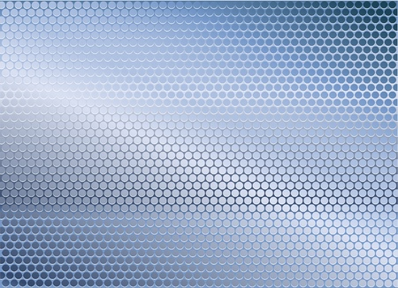 repeated: Blue metal background Illustration