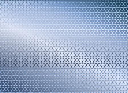 l plate: Blue metal background Illustration