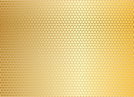 l plate: Gold metal background