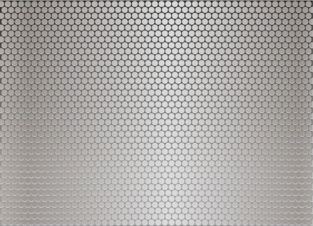repeated: Silver metal background Illustration