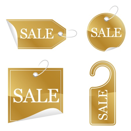 Gold Sale stickers