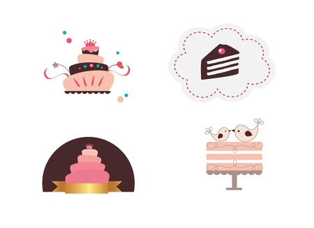 fairycake: Cute cakes Illustration