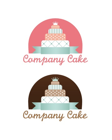 Cute cakes set Stock Vector - 12765950