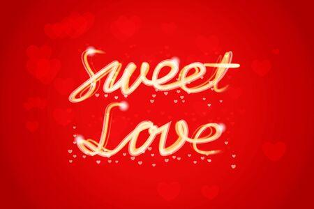 sweet love: Banner de Dulce amor