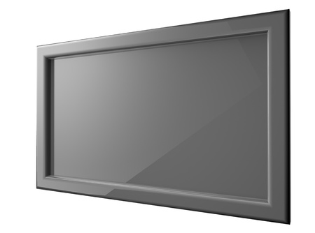 Grey Plasma tv photo