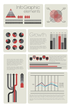 Modern Infographic with elements Vector