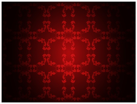 Retro vintage wallpaper background Vector