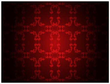 floral carpet: Retro vintage wallpaper background