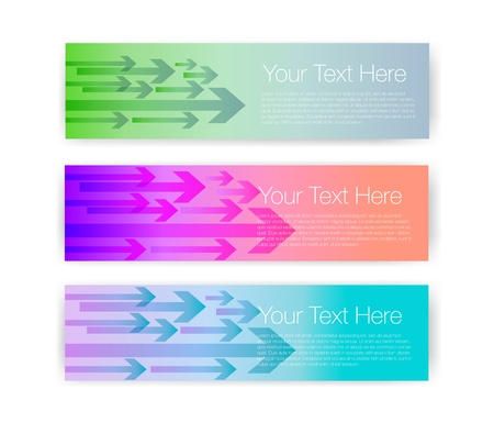 vector banners: Vector banners Illustration