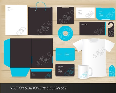 stationery: Vector stationery design set Illustration