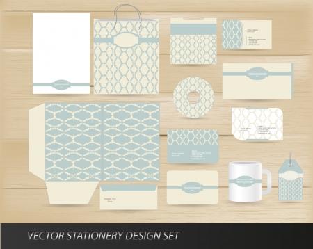 envelope decoration: Elegante juego de escritorio de �poca