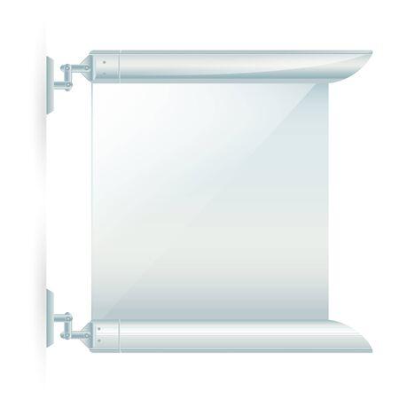 Advertising wall frame Stock Vector - 13849692