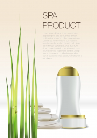 Spa Cosmetic flyer Stock Vector - 16145696