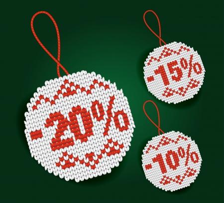 Sale percent price tags