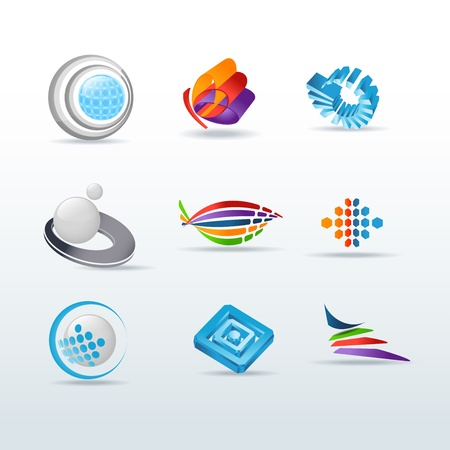 Set Of Icons Illustration Vector