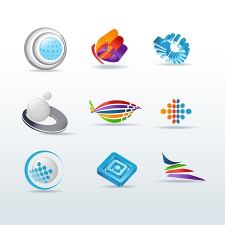 Set Of Illustration Ic�nes