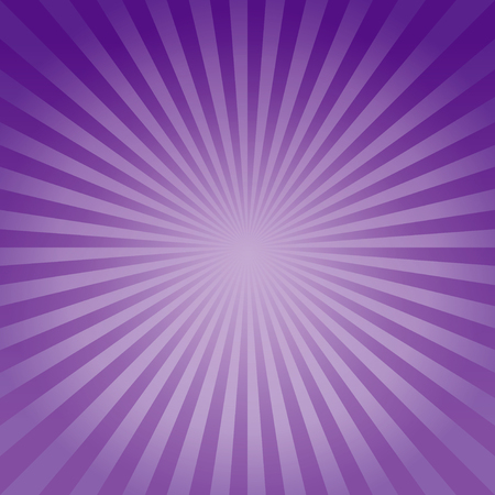 Abstract background. Soft Purple Violet gradient rays background. 向量圖像