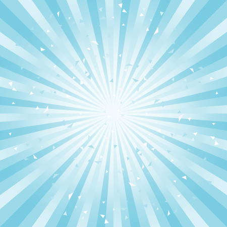 Scratched Abstract background. Soft light Blue Cyan rays background. Square. Vector EPS 10 cmyk