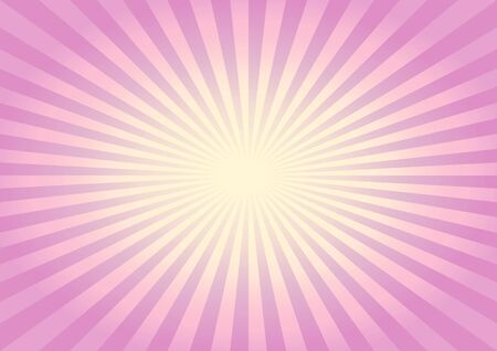 Abstract light soft Violet Yellow rays background. Vector