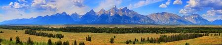 Teton range Stock Photo