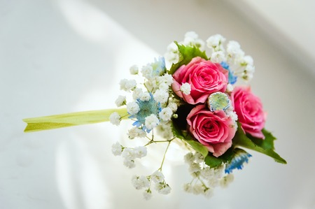 boutonniere for the groom Flower bouquet