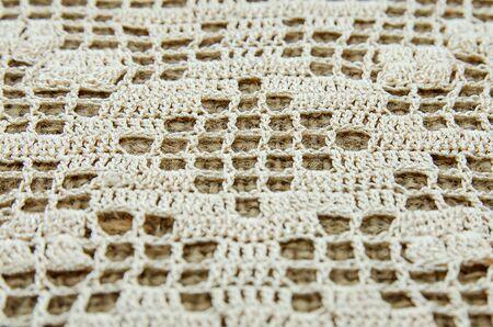 Crochet background