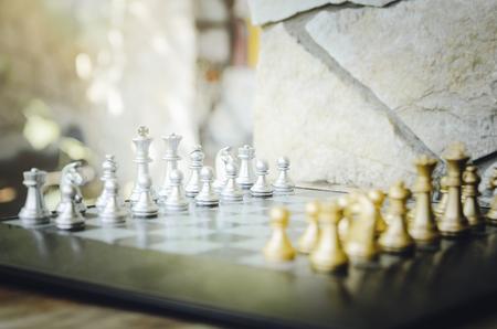 Chess. Board game. Chess tournament. Stock Photo
