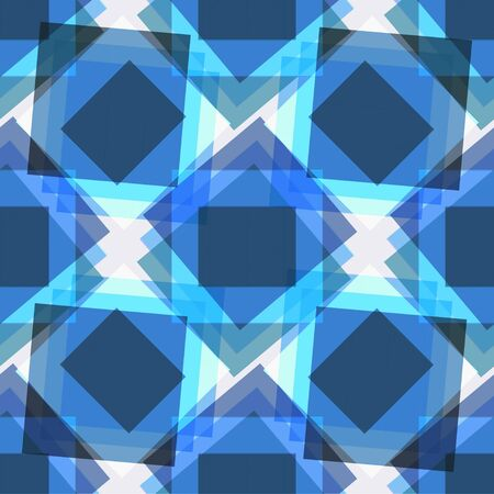 Abstract seamless geometric background. Square.